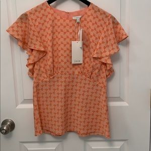 Beautiful top by Joie. NWT